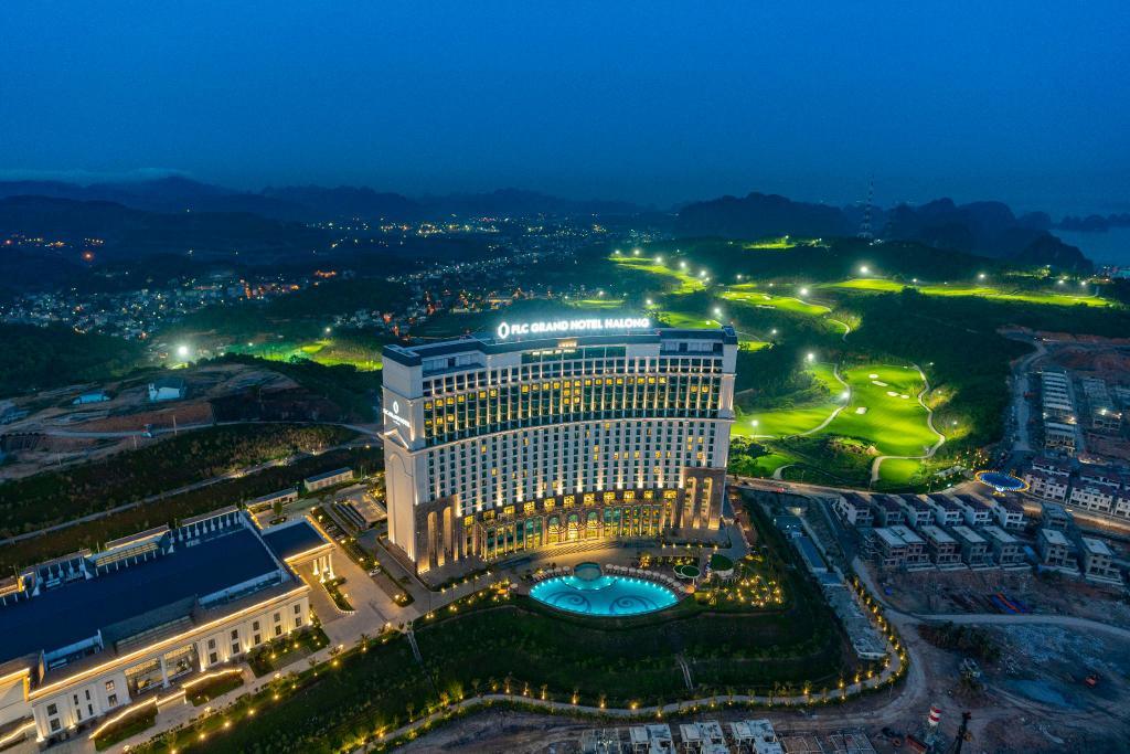 flc ha long - Mái sảnh FLC- công trình FLC Grand Hotel Ha long