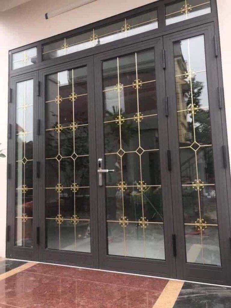 Gợi ý mẫu thiết kế cửa nhôm Việt Pháp