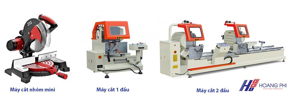 may cat nhom - Giới thiệu 6 loại máy làm cửa nhôm cần có