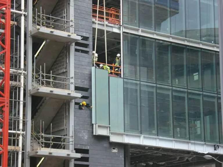 Dự án thi công vách kính mặt dựng của Hoàng Phi Glass