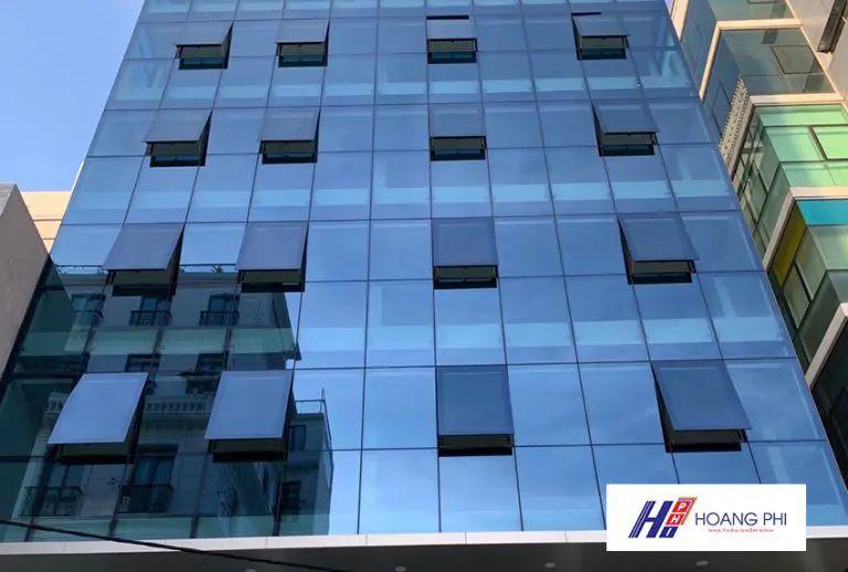 Vách mặt dựng Hyundai