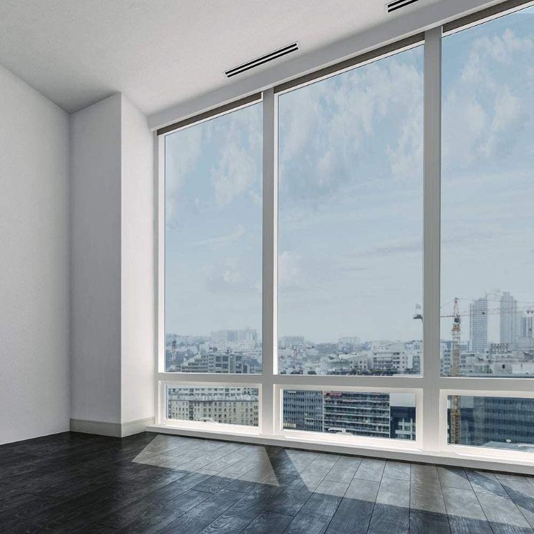 Cửa kính 1 chiều cho tòa nhà cao tầng, nhà ở