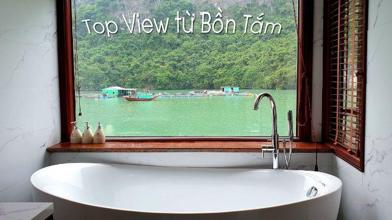 Cửa kính 1 chiều cho nhà tắm