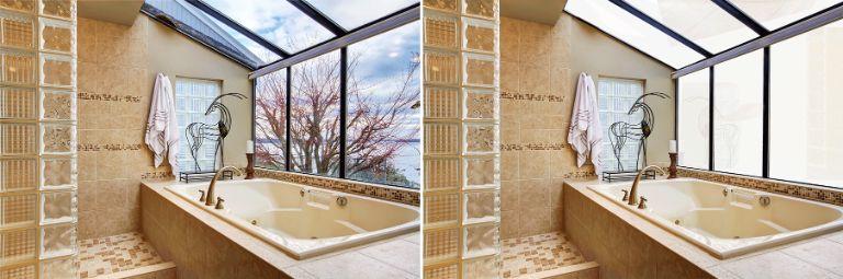 Kính điện thông minh cho phòng tắm