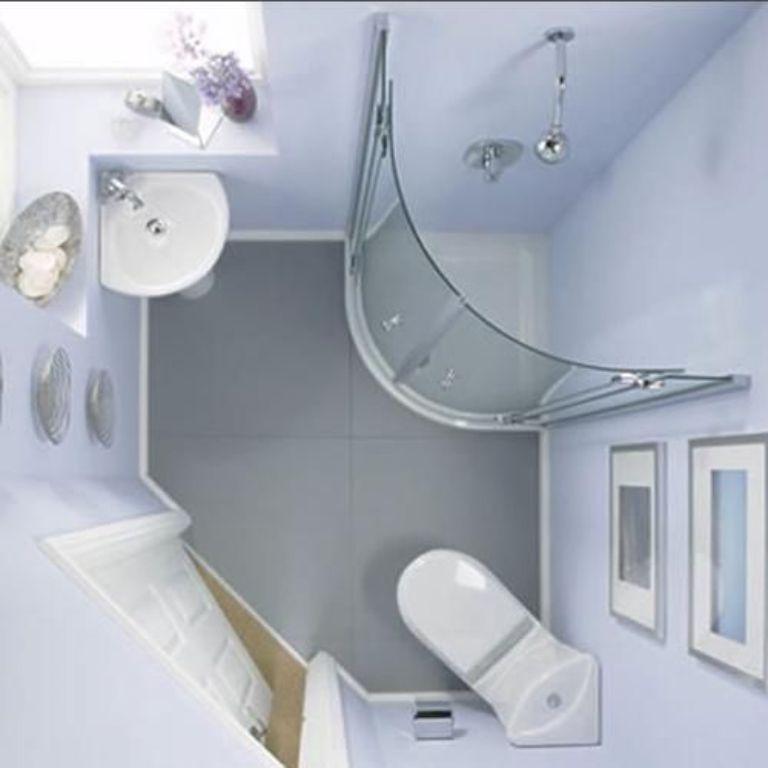 Phòng tắm - cabin kính uốn cong